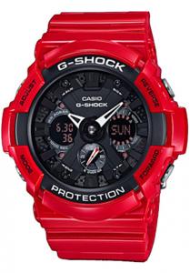 Đồng Hồ Nam Casio G Shock GA-201RD-4ADR Dây Nhựa Màu Đỏ - Chống Từ- Chống Nước 200m, Kích thước vỏ : 55,1×52,5×16,7mm,5 chế độ báo giờ hàng ngày (với 1 chế độ báo lặp),Tín hiệu thời gian hàng giờ,Lịch hoàn toàn tự động.