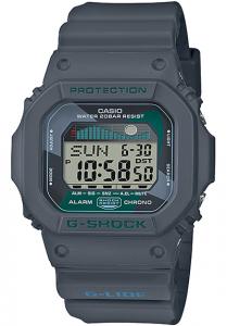 Đồng Hồ Nam Casio G Shock GLX-5600VH-1DF Dây Nhựa - Mặt Vuông - Đồ Thị Thuỷ Triều, Kích thước (H x W x D): 46,7 x 43,2 x 12,7 mm,Đa báo thức 3 (chỉ có một chức năng báo lại), tín hiệu thời gian Lịch tự động đầy đủ.