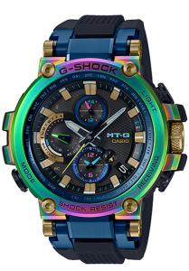 Đồng Hồ Nam Casio G Shock MTG-B1000RB-2A Triple G - Kết Nối Điện Thoại - Nhận Sóng Radio - Pin Năng Lượng, Kích thước (H × W × D): 55,8 × 51,7 × 14,4 mm,Lịch tự động đầy đủ,Đèn LED (siêu sáng, có chức năng chiếu sáng).