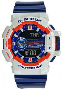 Đồng Hồ Nam Casio G-Shock GA-400CS-7ADR Dây Nhựa Màu Xanh - Chống Từ,Chống Nước 200m, Kích thước vỏ : 55×51,9×18,3mm, Tuổi thọ pin 3 năm,Thời gian báo động 5 chiếc (chỉ với 1 chức năng báo lại) Toàn bộ lịch tự động.