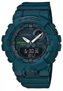 Đồng Hồ Nam Casio G Shock GBA-800-3ADR Dây Nhựa - Kết Nối Điện Thoại Thông Minh - Hai Đèn Led,Kích thước vỏ : 54,1×48,6×15,5mm,5 chế độ báo thức hàng ngày,Tín hiệu thời gian hàng giờ,Lịch hoàn toàn tự động (đến năm 2099).