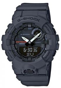 Đồng Hồ Nam Casio G Shock GBA-800-8ADR Dây Nhựa - Kết Nối Điện Thoại Thông Minh,chống nước 200m, Size mặt48.6mm,5 báo thức hàng ngày,Tín hiệu giờ,Lịch tự động đầy đủ,(đến năm 2099) Định dạng 12/24 giờ.