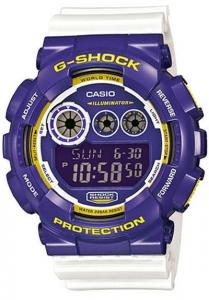 Đồng Hồ Nam Casio G Shock GD-120CS-6DR Dây Nhựa Hai Màu - Tuổi Thọ Pin 7 Năm, Kích thước vỏ (H × W × D): 55 × 51,2 × 17,4 mm, Tuổi thọ pin 7 năm,5 báo thức thời gian (báo thức một lần / chức năng chuyển đổi báo thức hàng ngày).