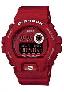 Đồng Hồ Nam Casio G Shock GD-X6900HT-4DR Dây Nhựa Màu Đỏ - Pin 10 Năm - Chống Nước 200m,Kích thước vỏ (H × W × D): 57,5 × 53,9 × 20,4 mm,3 chế độ báo đa chức năng (với 1 chế độ báo lặp),Tín hiệu thời gian hàng giờ.