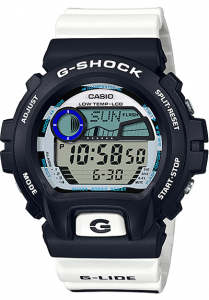 Đồng Hồ Nam Casio G Shock GLX-6900SS-1DF Dây Nhựa Màu Trắng, Kích thước (H x W x D): 53,2 x 50 x 17,7 mm,Đa báo động 5 (chỉ có một chức năng báo lại), tín hiệu thời gian,Lịch tự động đầy đủ,Hệ thống chuyển mạch hiển thị 12/24 giờ.