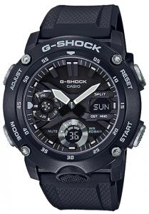 Đồng Hồ Nam Casio G Shock GA-2000S-1ADF Dây Nhựa Đen - Đèn Led Đôi - Chống Nước 200m, Kích thước (H x W x D): 51,2 x 48,7 x 14,1 mm,5 báo thức thời gian, báo cáo hàng giờ,Lịch tự động đầy đủ, Hệ thống chuyển mạch hiển thị 12/24 giờ.