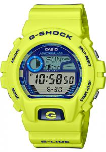 Đồng Hồ Nam Casio G Shock GLX-6900SS-9DF Dây Nhựa Hai Màu - Đồ Thị Thủy Triều - Hai Đồng Hồ Bấm Giờ,Kích thước (H x W x D): 53,2 x 50 x 17,7 mm,Khối lượng: 65g,Đa báo động 5 (chỉ có một chức năng báo lại), tín hiệu thời gian,Lịch tự động đầy đủ.