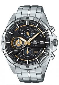 Đồng hồ Casio Edifice EFR-556D-1AV chính hãng, thiết kế thời trang và mang đậm vẻ nam tính, Hiển thị ngày,Giờ hiện hành thông thường,Đồng hồ kim: 3 kim (giờ, phút, giây),3 mặt số (phút bấm giờ, giây bấm giờ, 24 giờ).