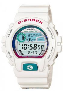 Đồng Hồ Nam Casio G Shock GLX-6900-7DR Dây Nhựa Màu Trắng - Đồ Thị Thuỷ Triều,Kích thước (H x W x D): 53,2 x 50 x 17,7 mm,Đa báo động 5 (chỉ có một chức năng báo lại), tín hiệu thời gian,Lịch tự động đầy đủ,Hệ thống chuyển mạch hiển thị 12/24 giờ.