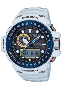 Đồng Hồ Nam Casio G Shock GULFMASTER GWN-1000E-8ADR Pin Năng Lượng Mặt Trời - Truy Cập Thông Minh - Bắt Sóng Radio, Kích thước vỏ (H × W × D): 44,9 × 55,8 × 16,2 mm,5 báo thức thời gian, báo cáo hàng giờ,Hiển thị chỉ báo pin.