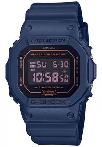 Đồng Hồ Nam Casio G Shock DW-5600BBM-2DF Dây Nhựa Màu Xanh - Chống Nước 200m,Kích thước (H x W x D): 48,9 x 42,8 x 13,4 mm,Báo giờ đa chức năng,Tín hiệu thời gian hàng giờ,Lịch hoàn toàn tự động (đến năm 2039).