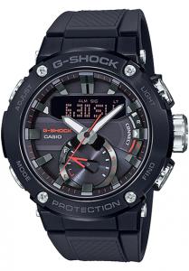 Đồng Hồ Nam Casio G Shock GST-B200B-1ADF Dây Nhựa Carbon - Kết Nối Điện Thoại - Pin Năng Lượng, Kích thước (H x W x D): 53,3 x 49,2 x 14,5 mm,Lịch tự động đầy đủ,chuyển đổi màn hình 12/24 giờ,Chức năng chuyển đổi âm thanh BẬT / TẮT.