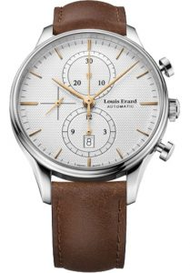 Đồng hồ Louis Erard 78289AA31.BVA01 đồng hồ 6 kim, Lịch hiển thị ngày, Đường kính mặt đồng hồ : 43mm, Dây đồng hồ dây da; Vật liệu vỏ : Thép không gỉ