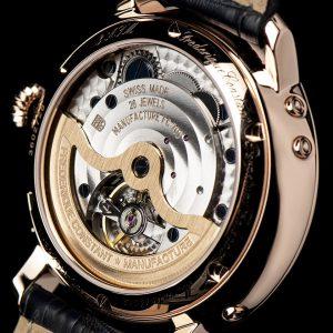Ra mắt đồng hồ Frederique Constant hiển thị thời gian sản xuất đồng hồ