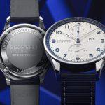 Đồng Hồ IWC Portugieser Chronograph BUCHERER BLUE Phiên bản đặc biệt