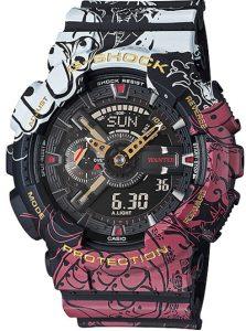 Đồng Hồ Nam Casio G Shock GA-110JOP-1A4 Dây Nhựa nhiều màu - Chống Từ- Chống Nước 200m, Kích thước vỏ (H × W × D): 55 × 51,2 × 16,9mm,Hẹn giờ (đơn vị đặt: 1 phút, đặt tối đa: 24 giờ, tính bằng đơn vị 1 giây, tự động lặp lại).