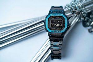 Đồng hồ Casio G Shock GMW-B5000TCF-2 – Màu Xanh Phiên Bản Giới Hạn