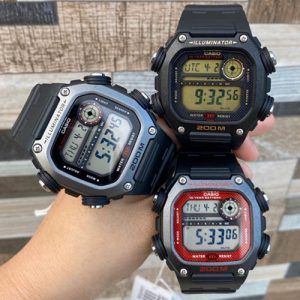 Casio DW-291 – Đồng hồ Casio gần giống như G-Shock với pin 10 năm