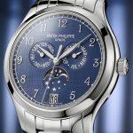Patek Philippe Debuts Ref. 4947 / 1A-001 Đồng hồ lịch hàng năm bằng thép không gỉ