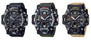 Ra mắt đồng hồ G-SHOCK MUDMASTER đầu tiên được chế tạo bằng Carbon
